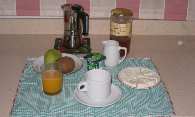 El desayuno ejemplar