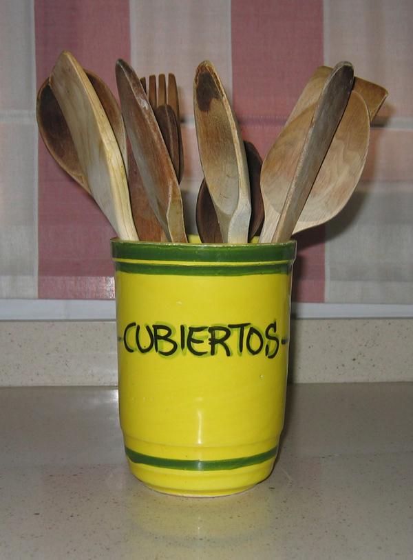 Mis queridas cucharas de madera