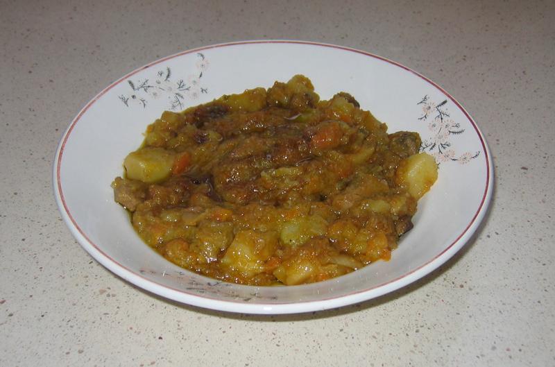 Patatas con carne deseadas