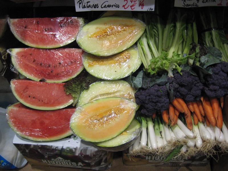 Lifting para frutas y hortalizas