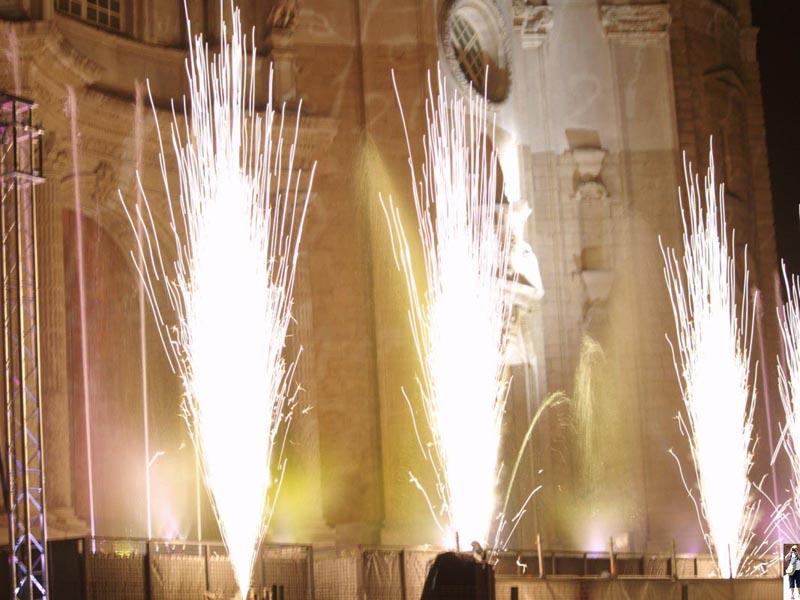 El Bicentenario con luz y sonido