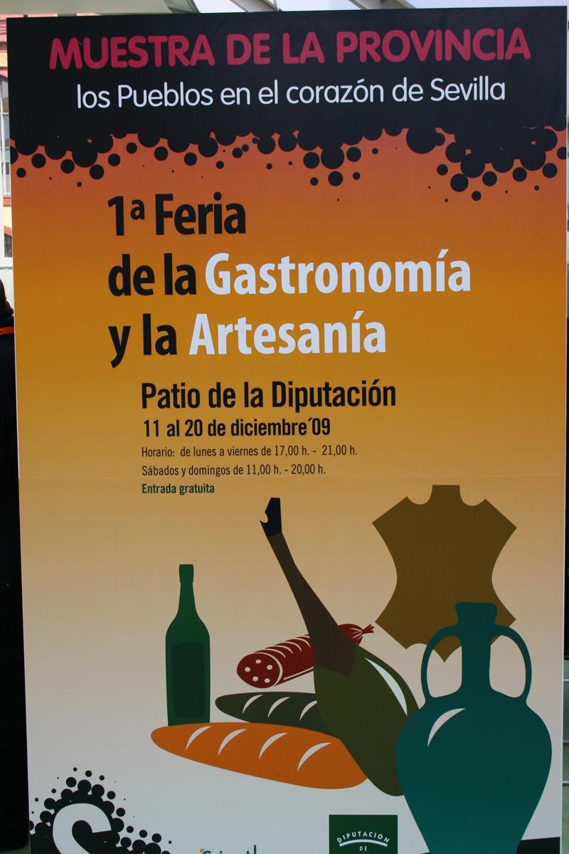 I Feria de la Gastronomía y Artesanía, Sevilla
