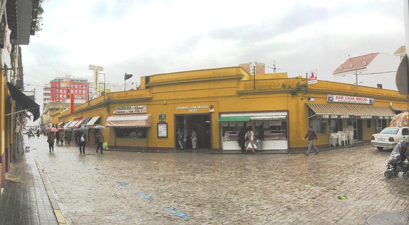 El antiguo mercado de Huelva