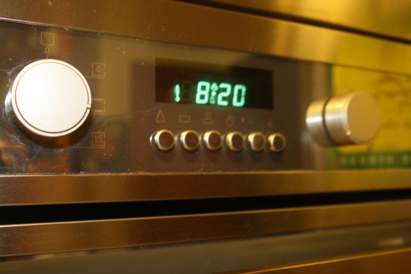 Alarmas avisadoras en la cocina