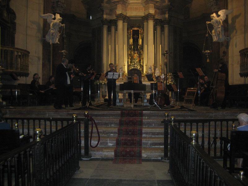 Diez conciertos en diez iglesias de Cádiz