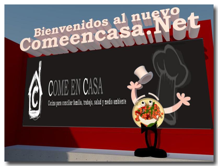 Bienvenido a Comeencasa.net