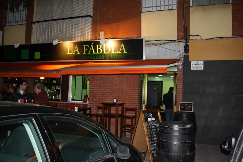 Inauguración Bar La Fábula