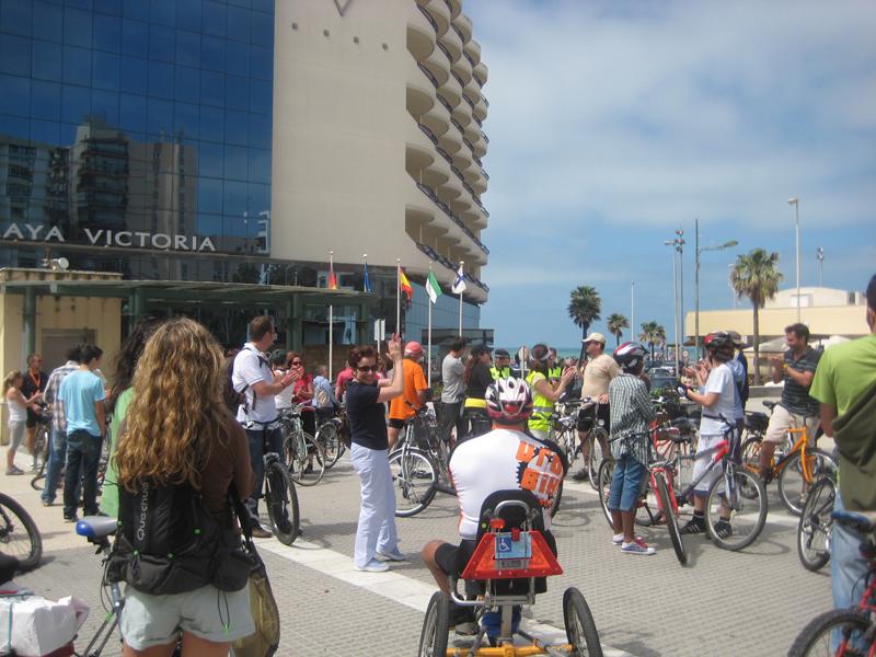 Bicifestación 10 de abril en Cádiz