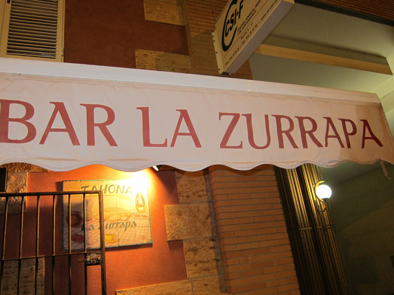 Tortillología: La Zurrapa