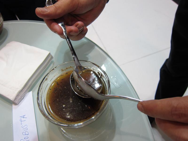 Andalucia Sabor 2011: cata de café