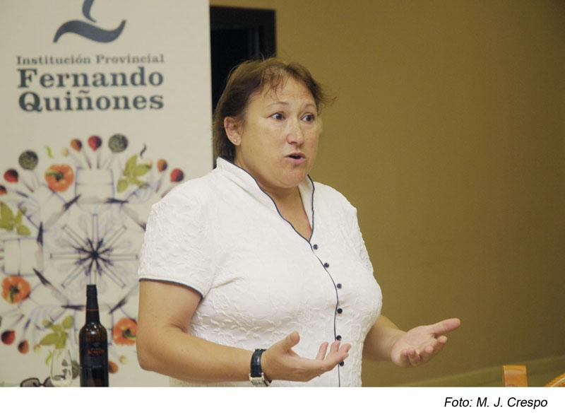 """""""El vino y su servicio"""" por Josefina Armental"""