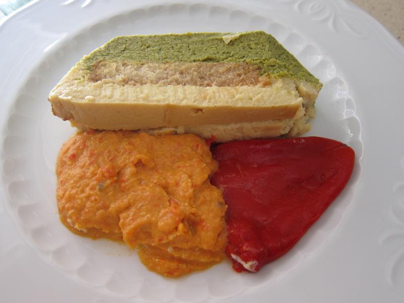 Pastel de coliflor y brócoli (Arguiñano)