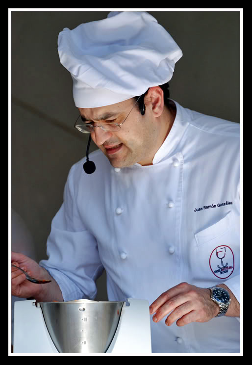 Juan Ramón González, maestro de futuros cocineros