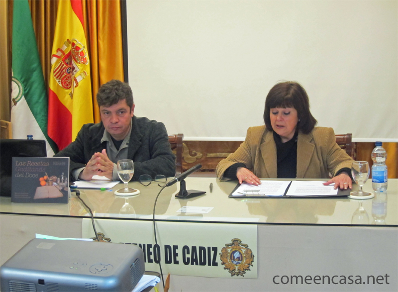 Tertulia Gastronómica Ateneo: Dulces y golosinas del Cádiz de las Cortes