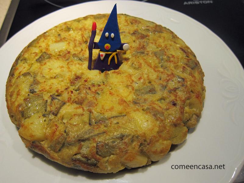 Tortillogía: tortilla de cuaresma