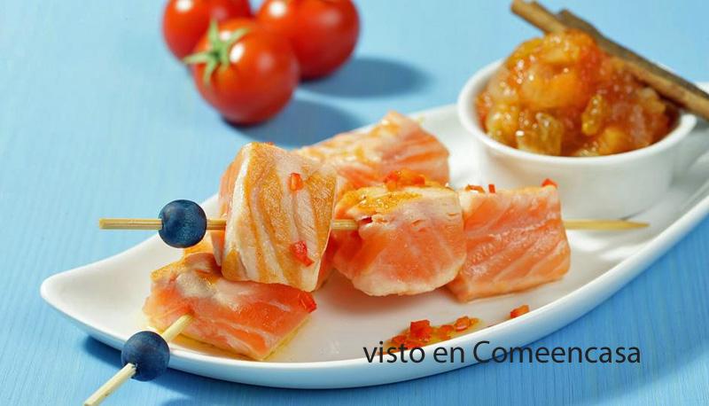 Aceite y salmón libres de sospecha