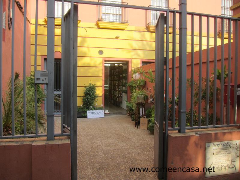 Estraperlo, productos ecológicos en Sevilla