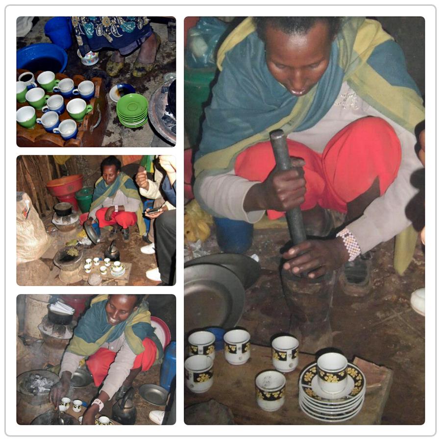 El café en Etiopía