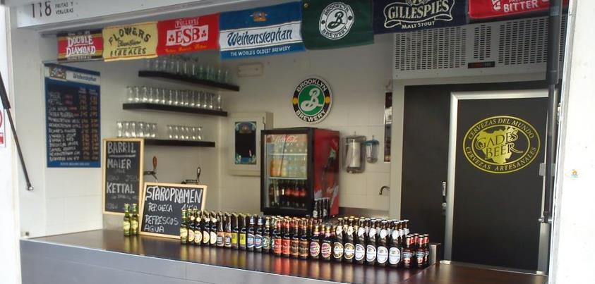 Gades Beer luce en el mercado de abastos