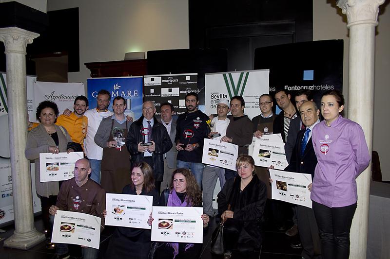 Sevilla en Boca de Todos, premios 2013