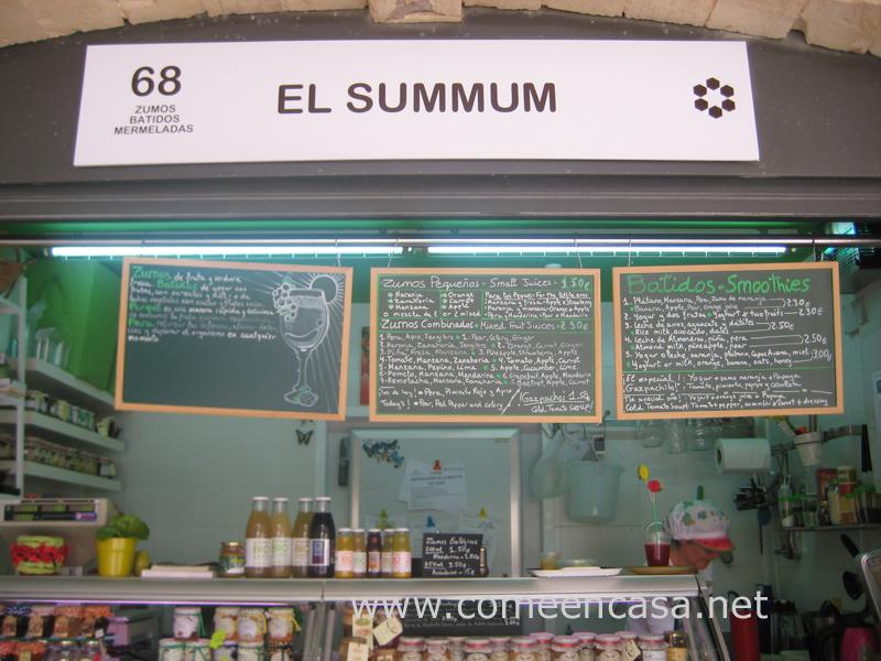 El Summum de las frutas
