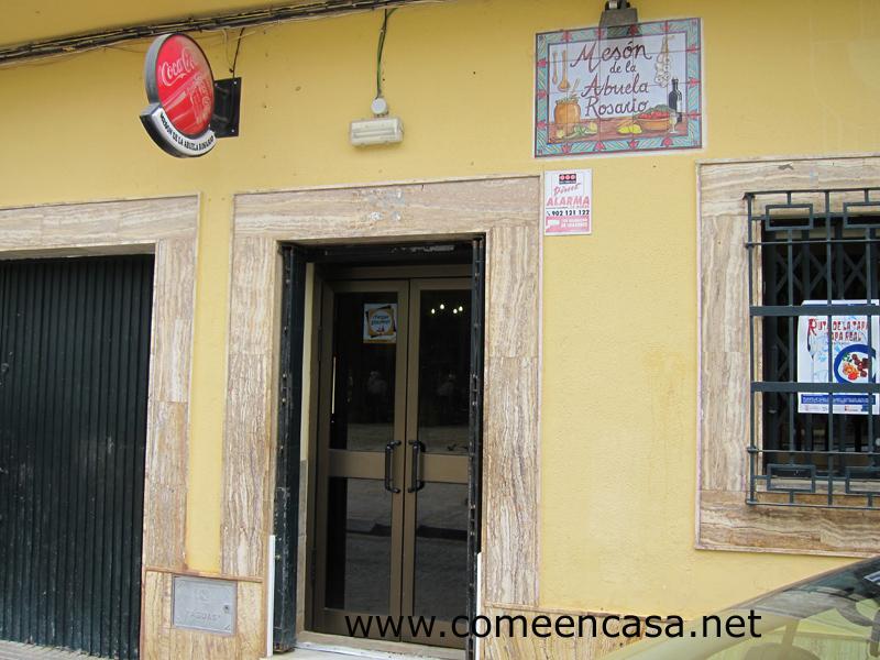 Ruta de la Tapa de Puerto Real: Abuela Rosario