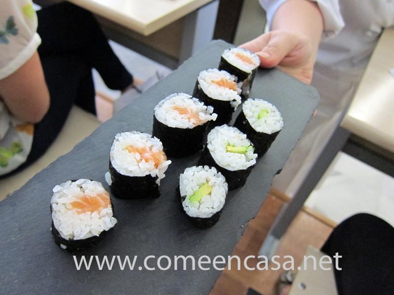 Avíos para hacer sushi