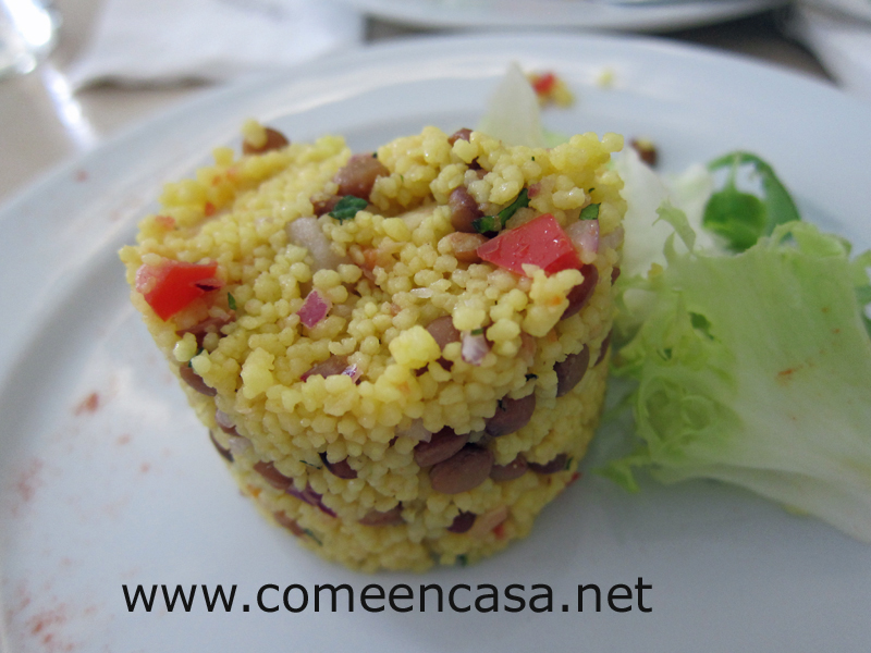 Cuscús con verduras (curso Escuela Hostelería)