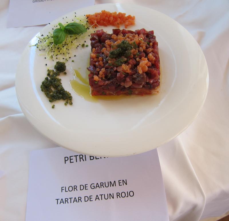 Flor de Garum o gastronomía arqueológica