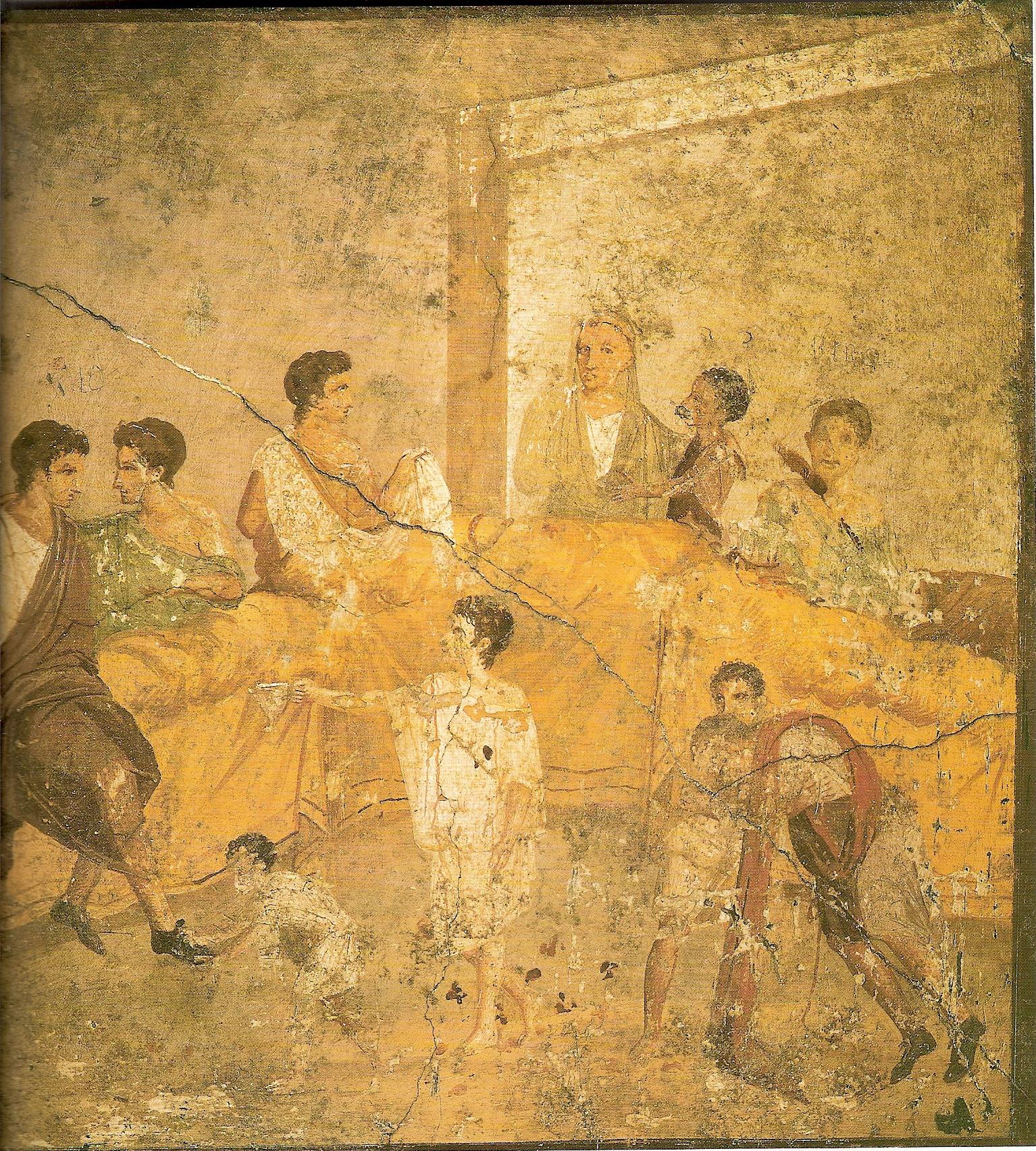 ¿Qué comían los romanos?