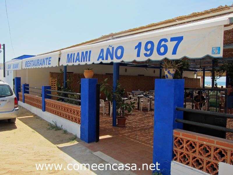 Chiringuito Miami en Punta Umbría