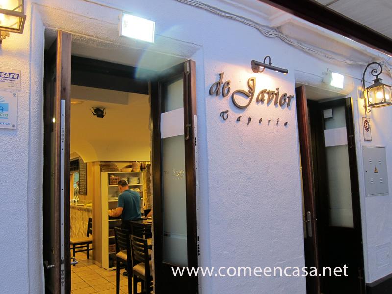 La Tapería de Javier, en San Fernando