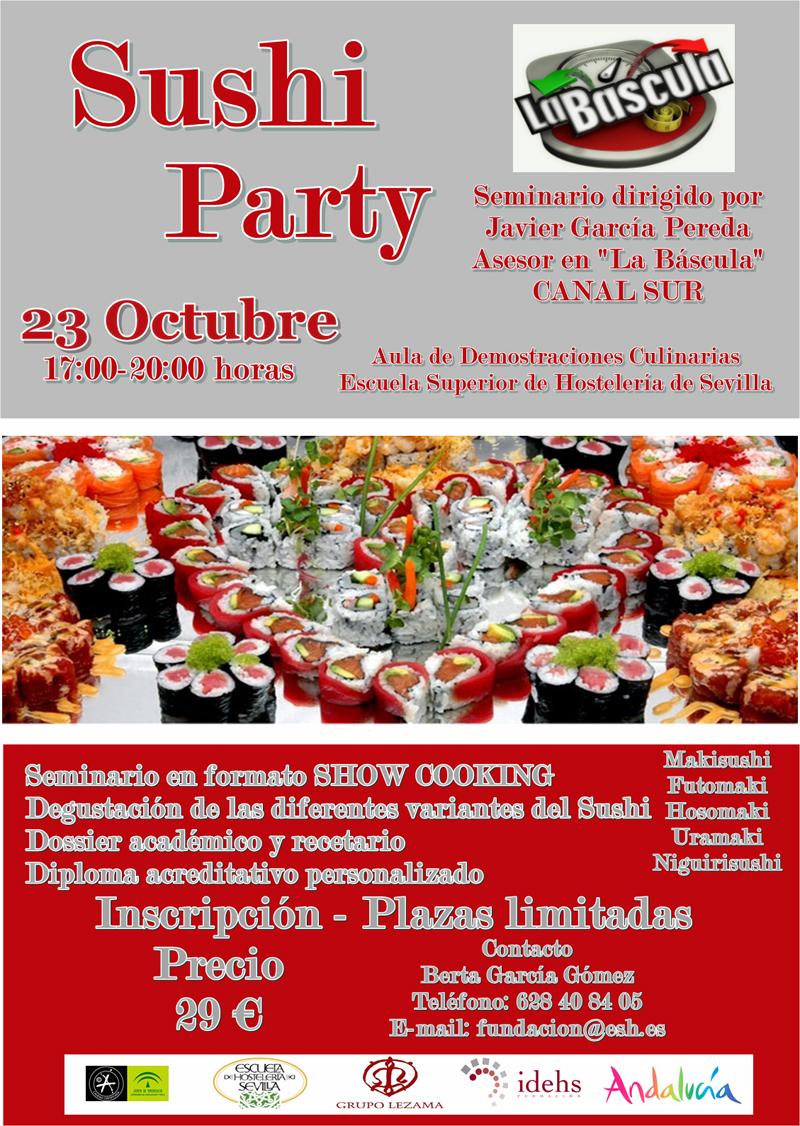 Sushi Party, de nuevo en Sevilla