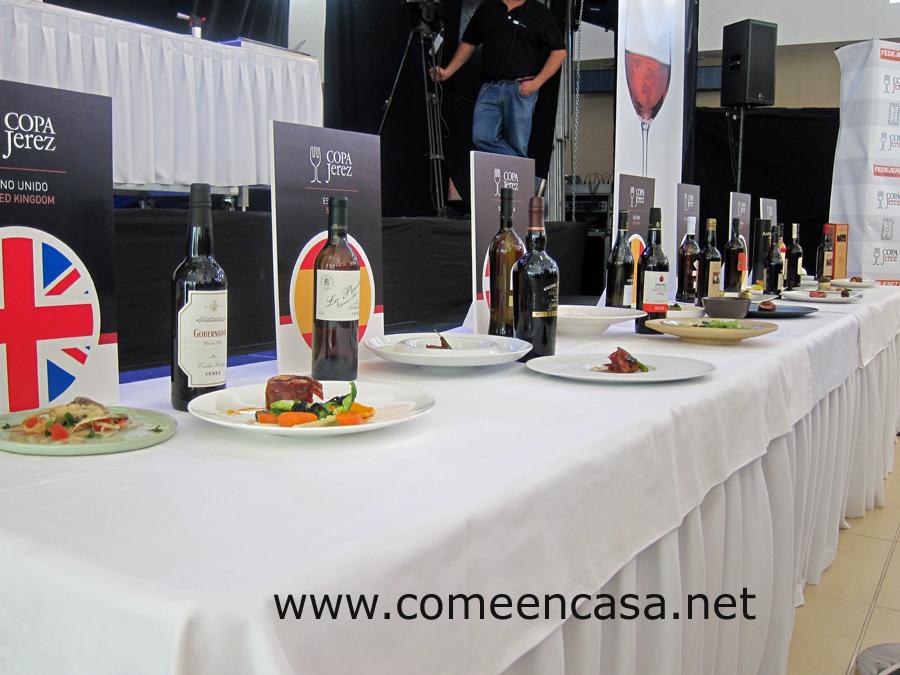 La 5ª Copa Jerez junta botella y plato