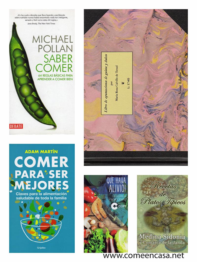 Más libros de cocina