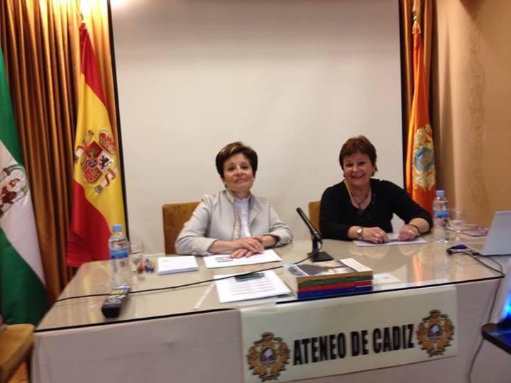 Mi charla en el Ateneo de Cádiz