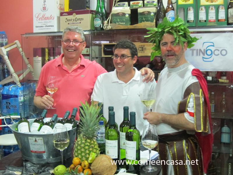 Presentación del vino blanco Matalian