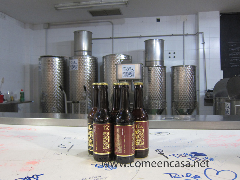 Cata de cervezas Taifa