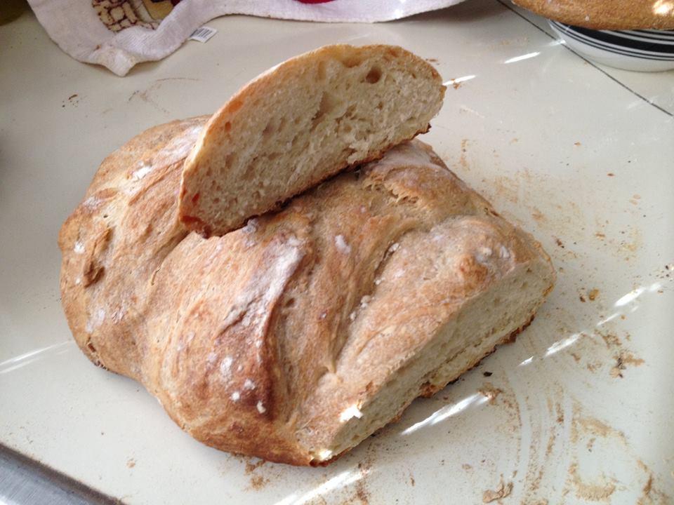 Hacer pan a la americana