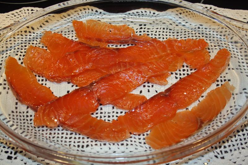 Estudios sobre el salmón ahumado