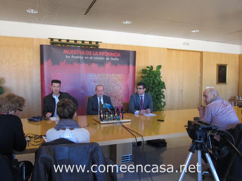 Programa de actividades en la Diputación de Sevilla