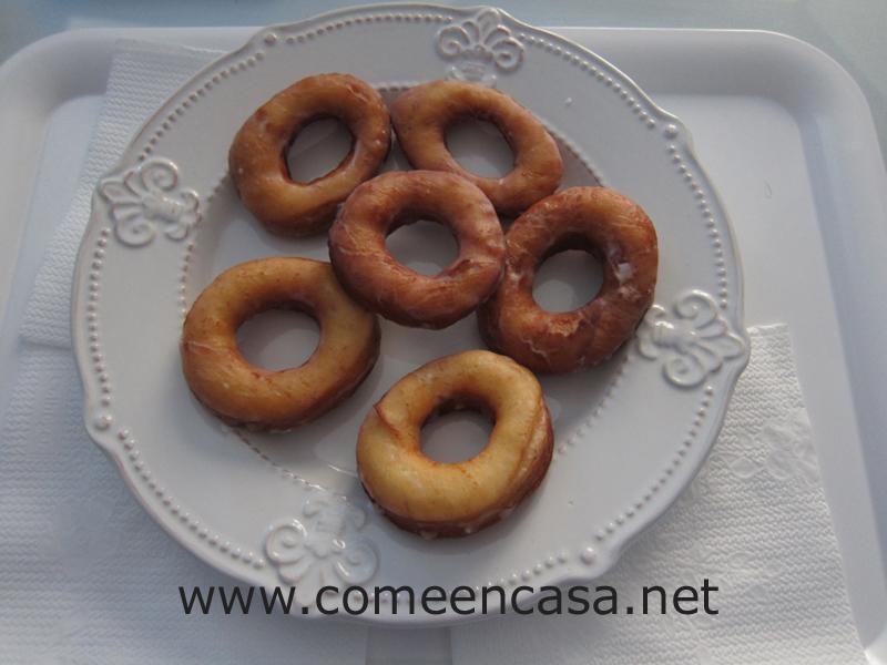 Donuts caseros de mi hermana Manoli