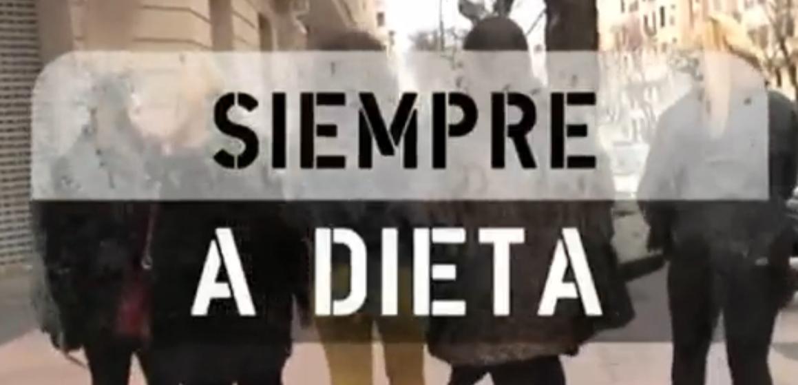 Siempre a dieta, en Comando Actualidad (tve)