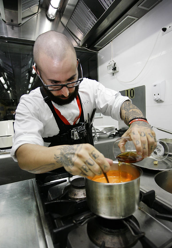 Atrio, un español en la copa Jerez