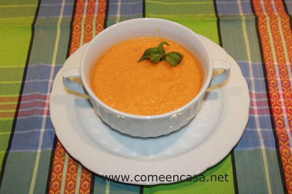 Gazpacho de zanahorias