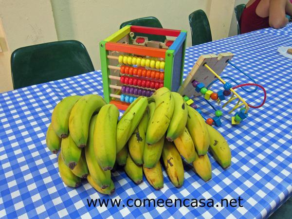 Todos a desayunar… y con plátanos