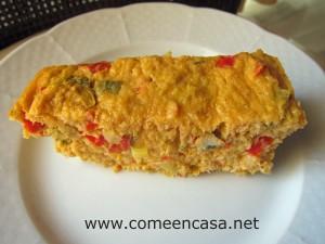 pastel de pescada y berberechos
