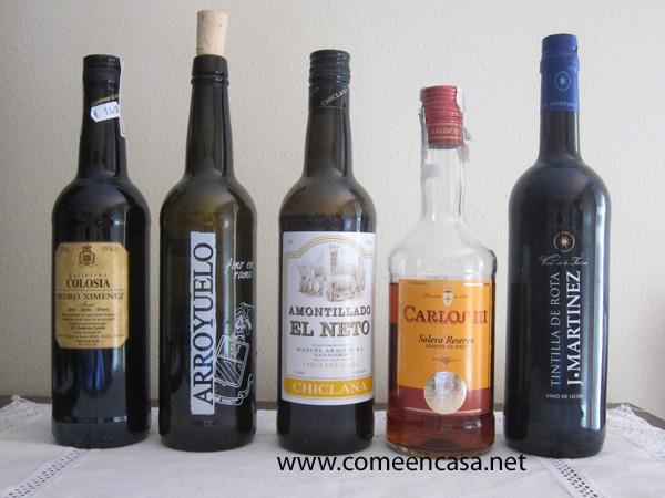 Mis vinos de cabecera en la cocina