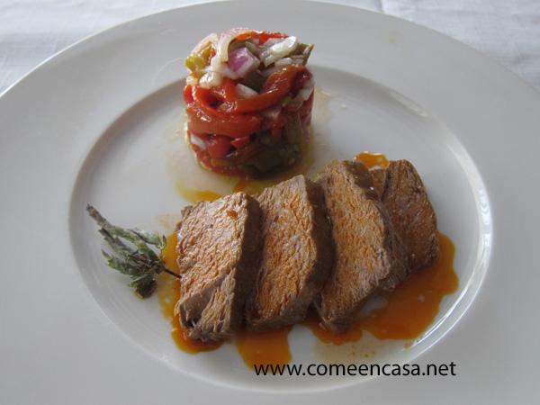 Escabeche de atún (receta de Petri Benítez)