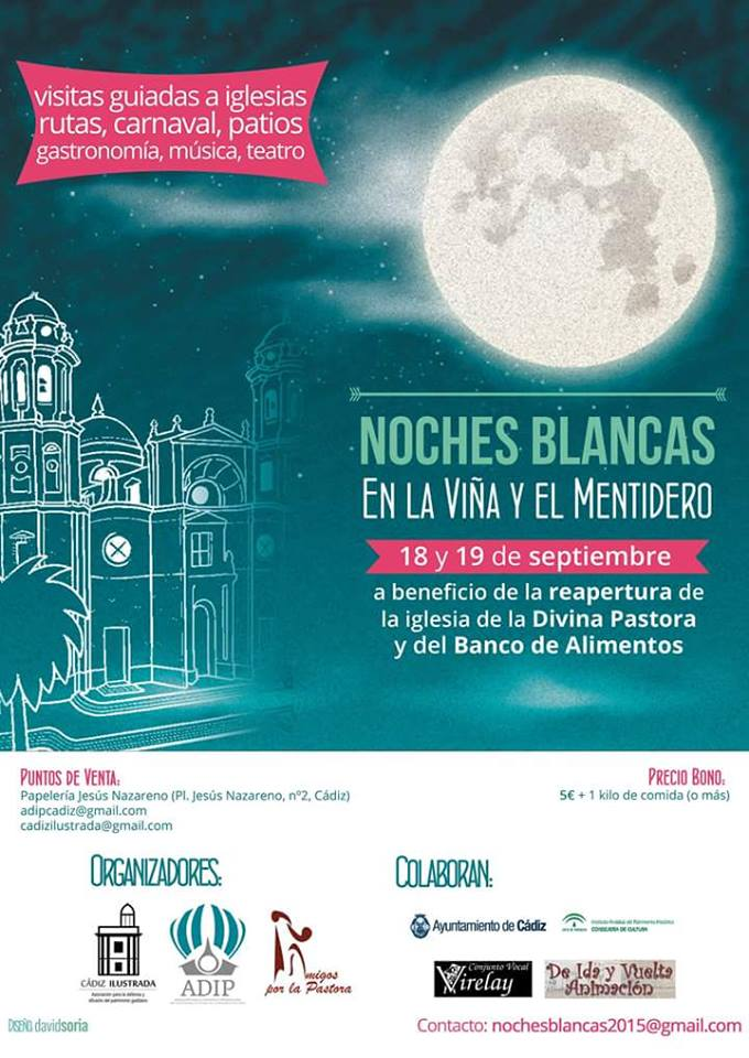 Noches Blancas y agitación cultural en Cádiz